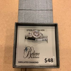 Brand new Sterling Silver Size 7 ring